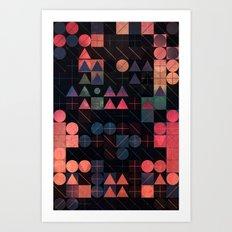 shww thyrww Art Print