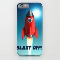 Blast Off! iPhone 6 Slim Case