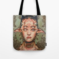 The Dream Thief By Alex … Tote Bag