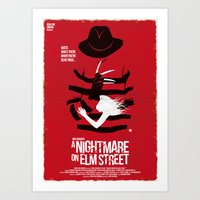 A Nightmare - Red Collec… Art Print