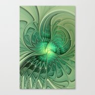 The Abstract Action, Fra… Canvas Print