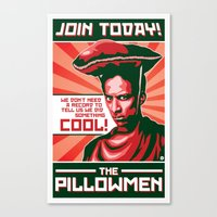 The Pillowmen Canvas Print