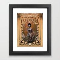 The Amazing Tattooed Lad… Framed Art Print