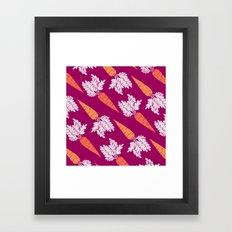 Carrots III Framed Art Print