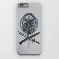 walking dead iPhone & iPod Cases featuring Dead Men Walking by WinterArtwork