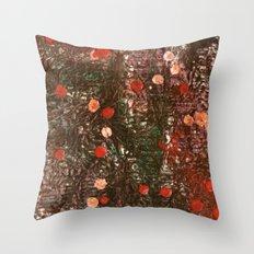 Encaustic Experiment Throw Pillow