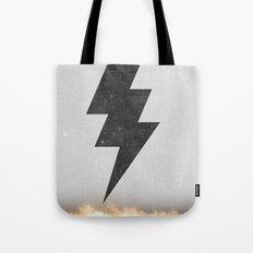 lightning strike Tote Bag