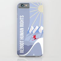 iPhone & iPod Case featuring Winter games by Inksider