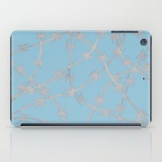 Trapped Ice Blue iPad Case