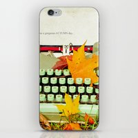 It Was A Gorgeous Autumn… iPhone & iPod Skin