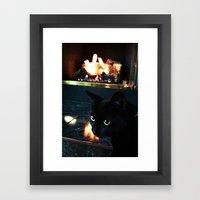The Catalyst Framed Art Print