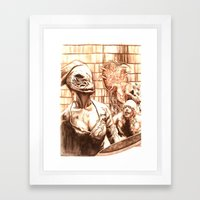 Silent Hill a Framed Art Print
