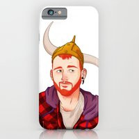 iPhone & iPod Case featuring Bear - Ginger by Dronio