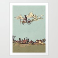 Steam FLY Art Print