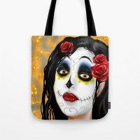 The Skull Princess Tote Bag