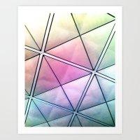 Rainbow Ricardo - Vivido Series Art Print