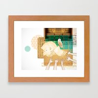 Larks & Owls Framed Art Print