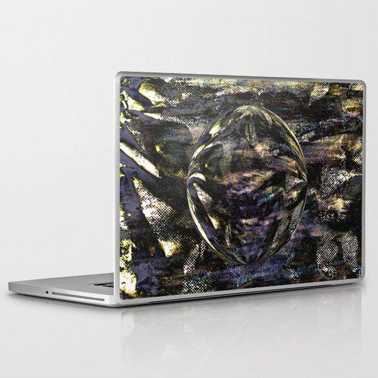 Dark Aluminum Sphere Laptop & iPad Skin