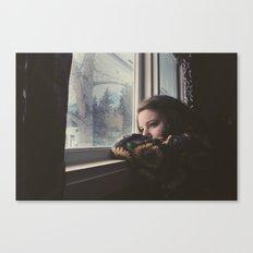 Waiting Canvas Print