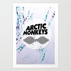 Arctic Monkeys AM Art Print