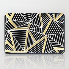Ab Lines 2 Gold iPad Case