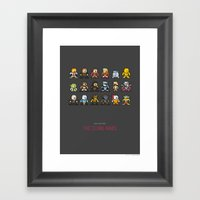 Mega Star Wars: The Clon… Framed Art Print