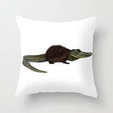 Alihog Throw Pillow