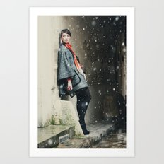 Snowscape IV Art Print
