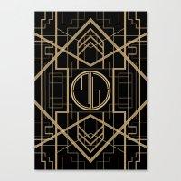 MJW- GREAT GATSBY STYLE Canvas Print