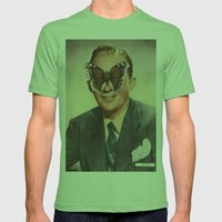 BING CROSBY.  (PIN-UPS). Mens Fitted Tee Grass SMALL