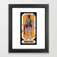 Boba Fett Beach Towel : Smaller Framed Art Print