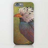 White Crested Hornbill iPhone 6 Slim Case