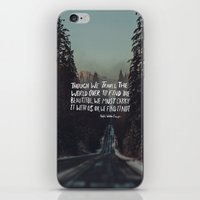 Road Trip Emerson iPhone & iPod Skin