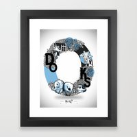 O DOKS Framed Art Print