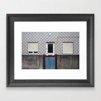 Povoa De Varzim Framed Art Print