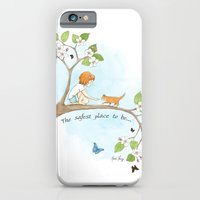 iPhone & iPod Case featuring The safest place to be... by Amanda Francey