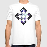 NEONSPACE Mens Fitted Tee White SMALL