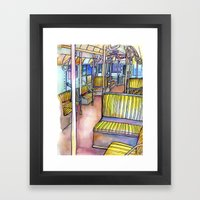 Love NYC's Everything No… Framed Art Print