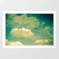 Cloud Study 1 Art Print