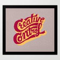Creative Control Art Print