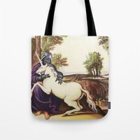 Vader And Unicorn Tote Bag