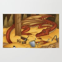 Smaug, The Last Dragon Rug