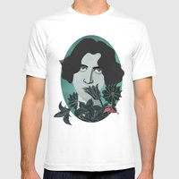 Oscar Wilde Mens Fitted Tee White SMALL