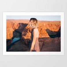 Arizona Portrait Art Print