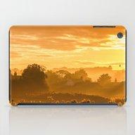 Golden Haze iPad Case