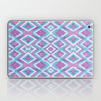 Aqua Berry Ikat Laptop & iPad Skin