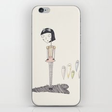 ghost candy. iPhone & iPod Skin