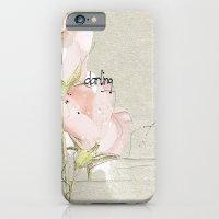 iPhone & iPod Case featuring soft magnolia by jastudio