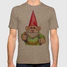 Little Traveler Mens Fitted Tee Tri-Coffee SMALL