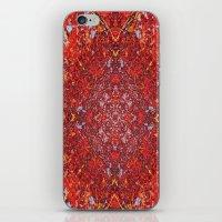 Internal Kaleidoscopic Daze-2 iPhone & iPod Skin